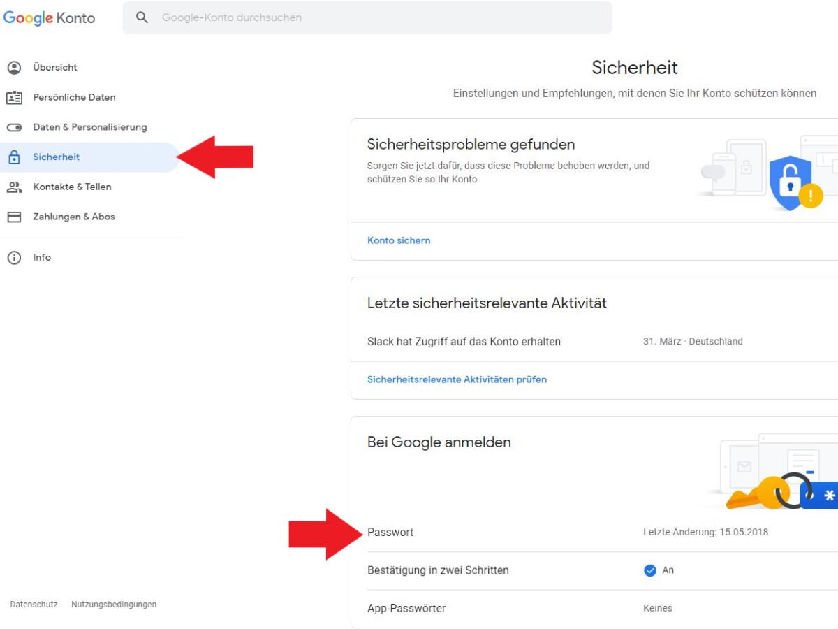 Google Passwort vergessen: Kennwort zurückzusetzen und