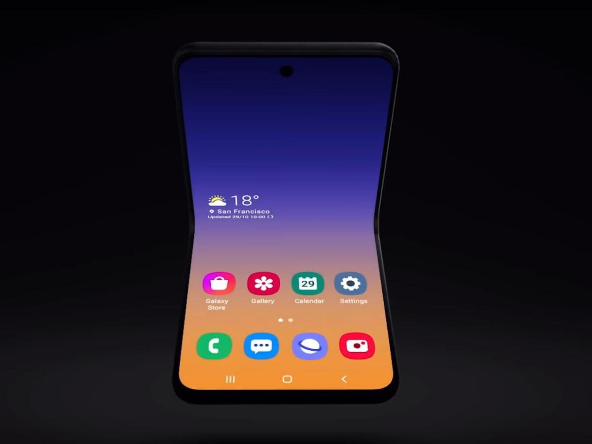 Galaxy Z Flip: Neues Samsung-Foldable könnte interessante Funktion besitzen