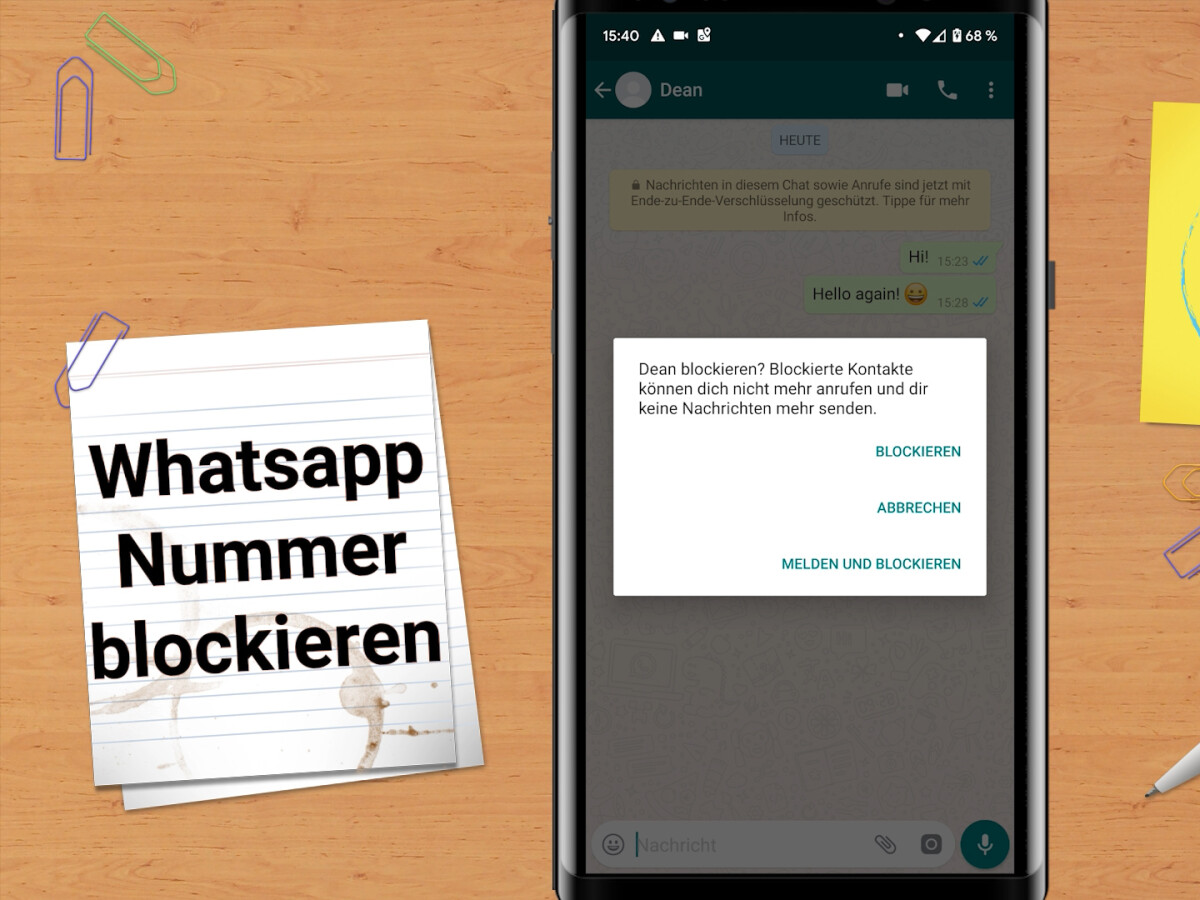 Iphone blockieren kontakte whatsapp bei WhatsApp: Kontakt
