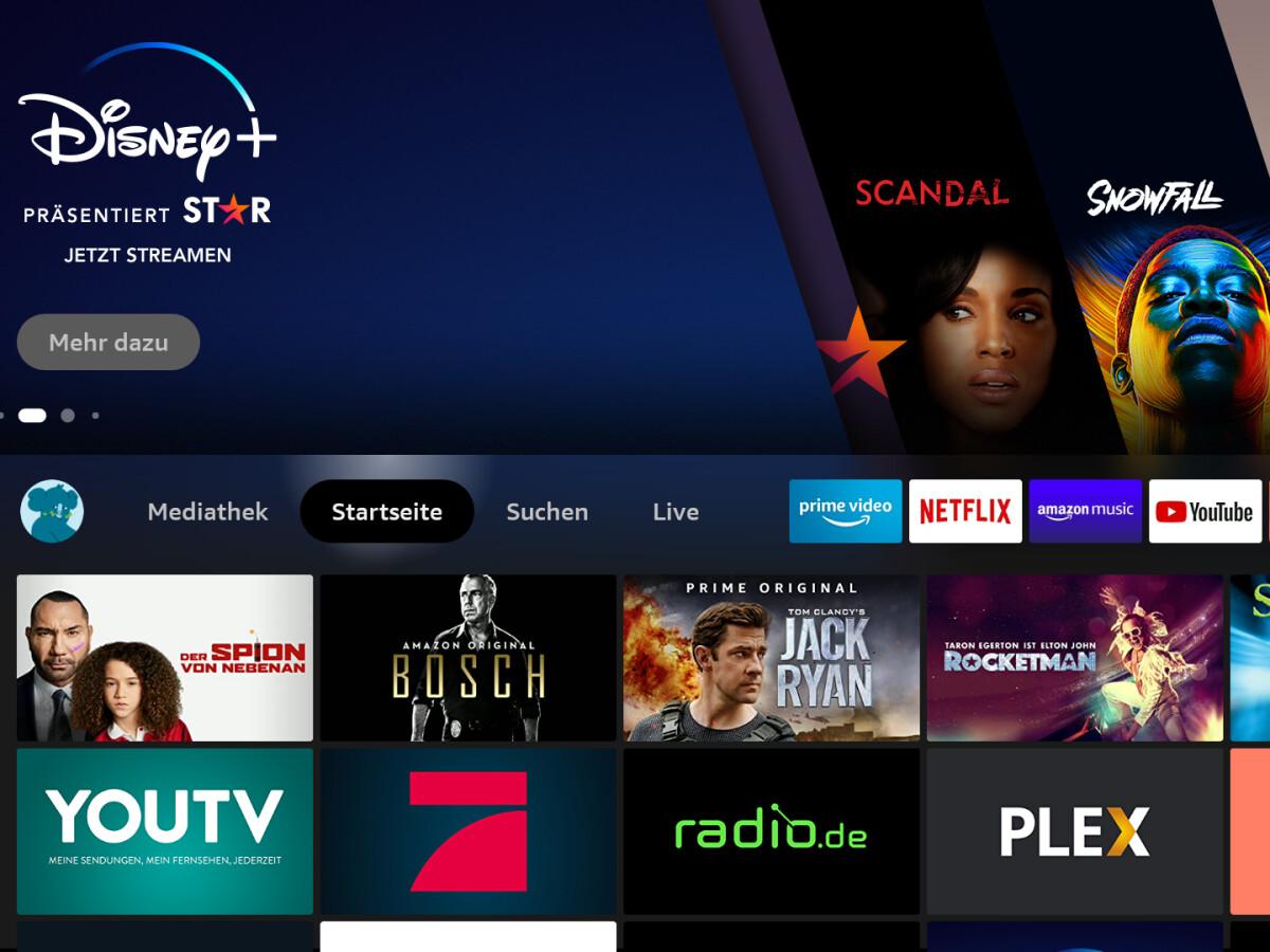 A Amazon reestruturou significativamente a interface do Fire TV Stick.