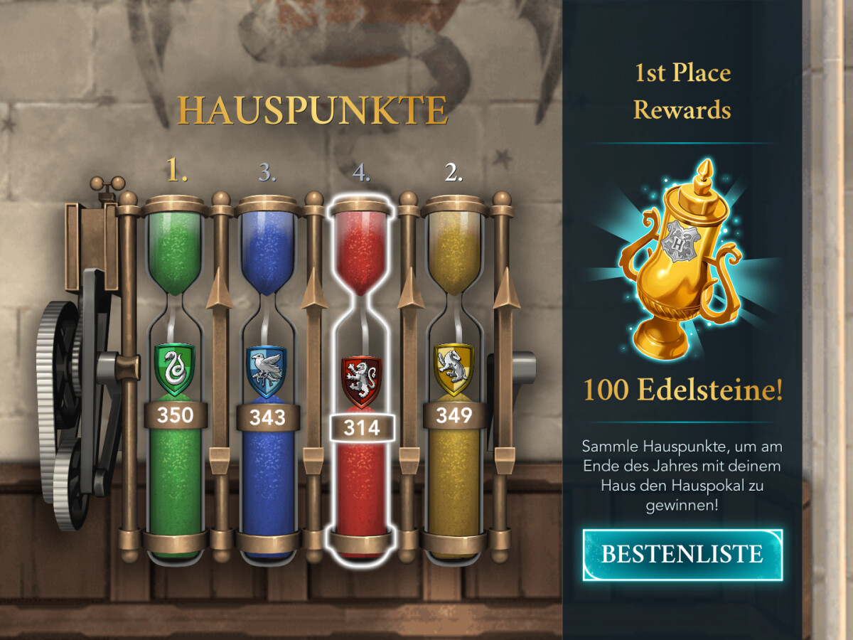 Harry Potter   Hogwarts Mystery So bekommt ihr Hauspunkte   NETZWELT
