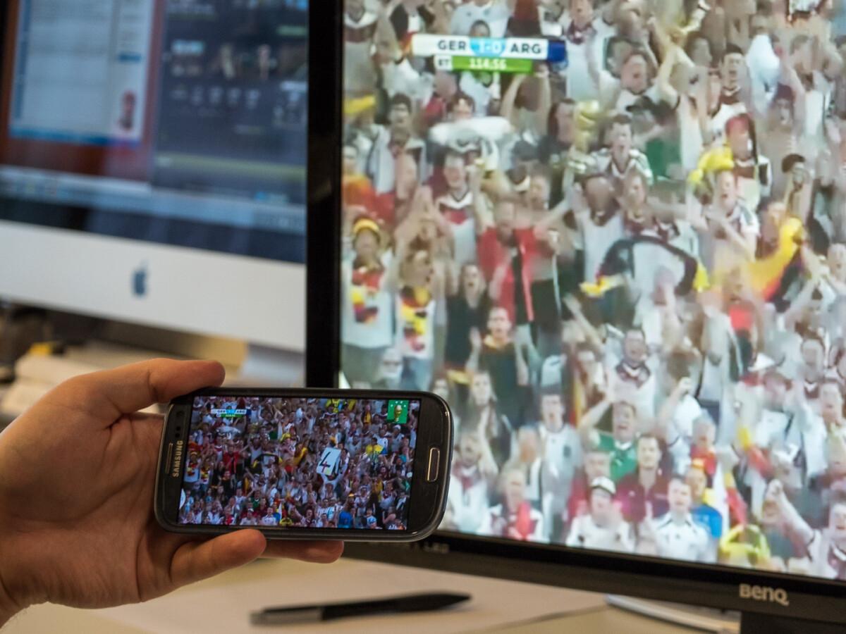 handy auf tv streamen wlan