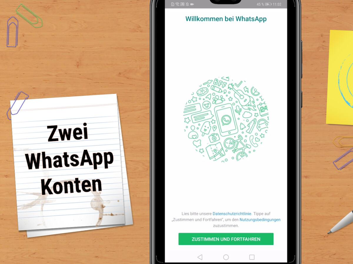 So nutzt ihr WhatsApp mit zwei Konten Dual SIM.