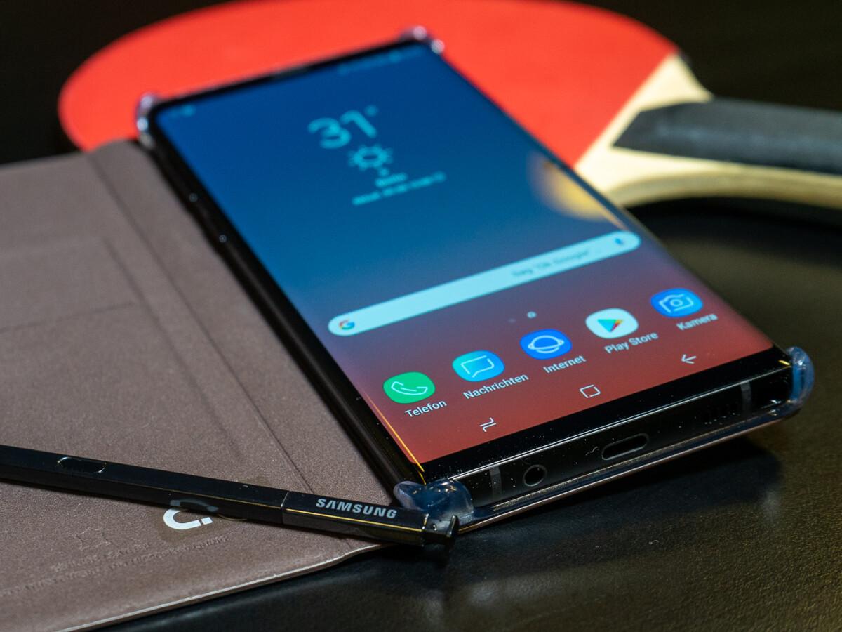 Das Samsung Galaxy Note 9 erhält neben dem A51 den September-Sicherheitspatch.