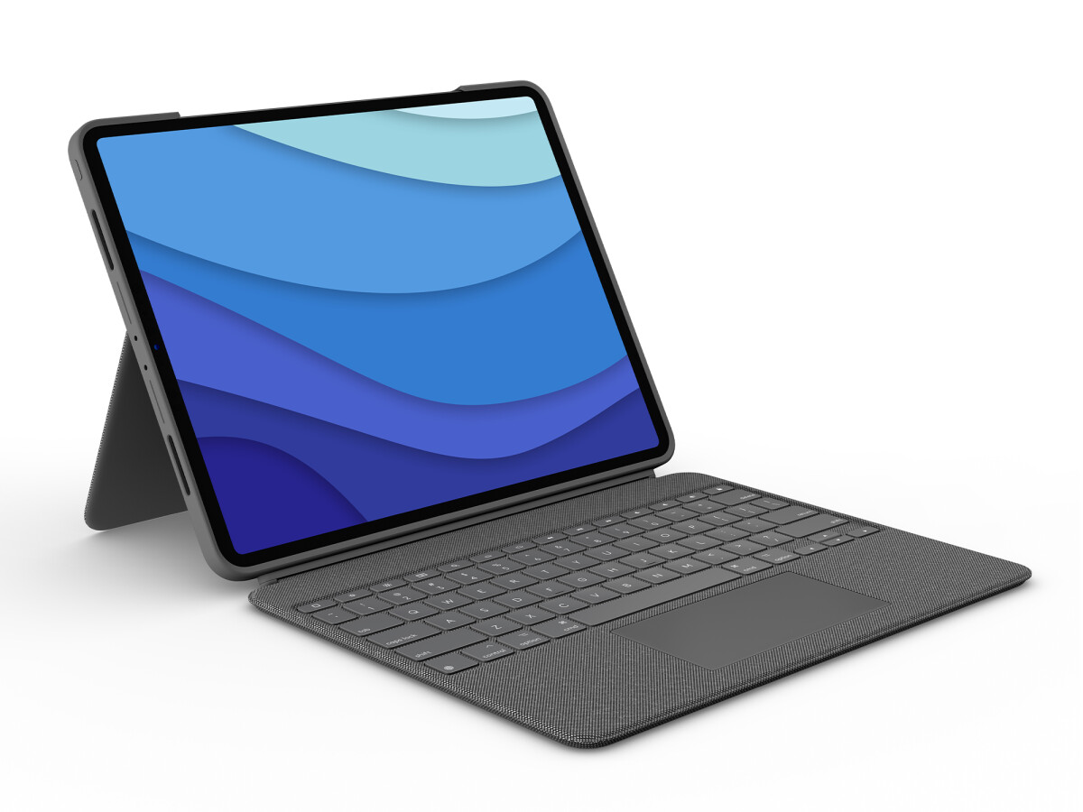 Logitech's iPad Pro keyboard will be available in late May.