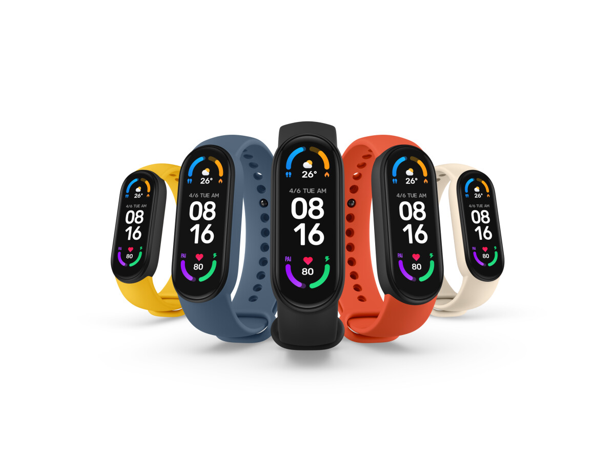 The Mi Band 6 is responsible for the global success in the wearable market.