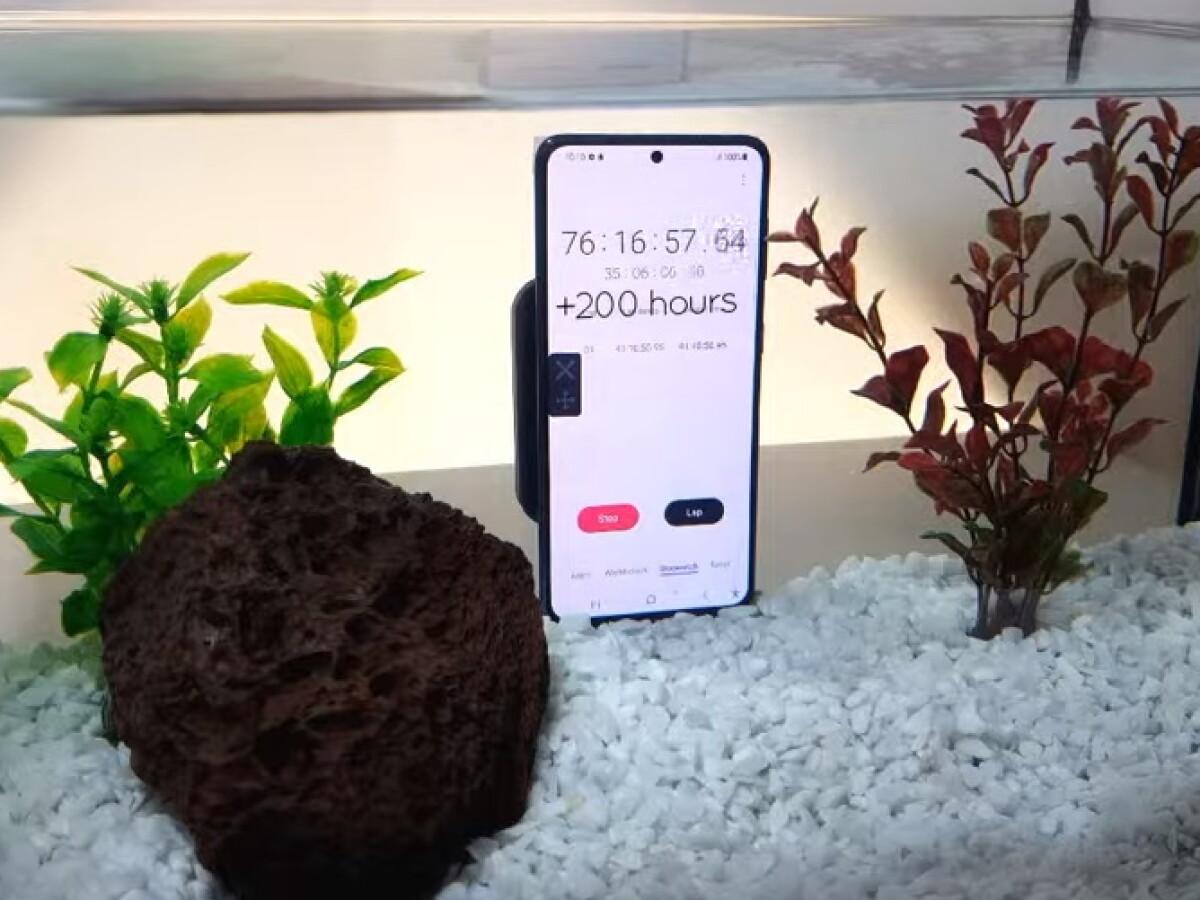 Comment fonctionne le Samsung Galaxy S21 sous l'eau?
