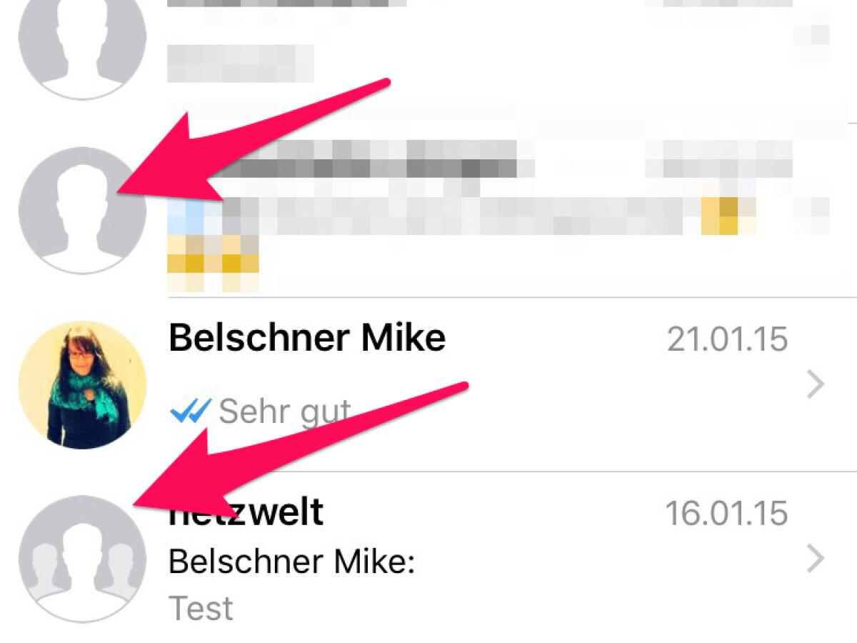 Profilbild blockiert in whatsapp WhatsApp Kontakt