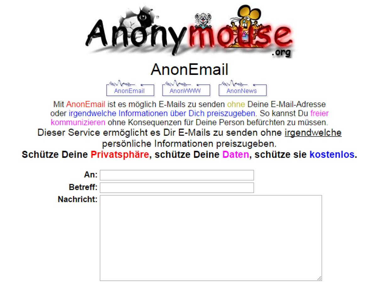 Anonym whatsapp nachrichten versenden