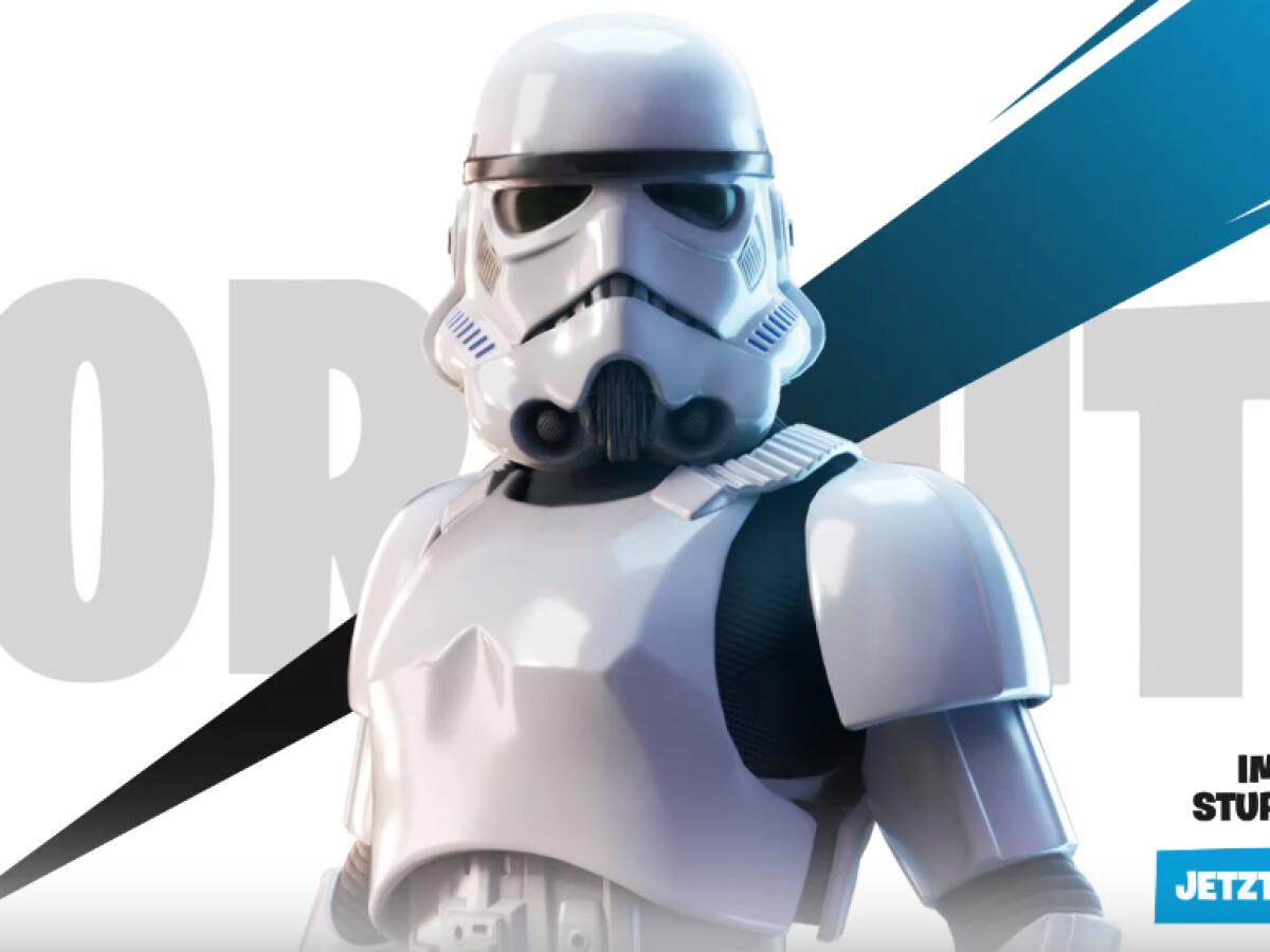 Fortnite: Star Wars-Inhalte sind da und ein Crossover-Event folgt wohl