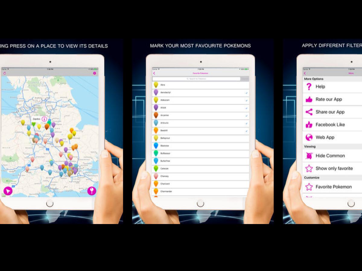 Pokémon GO: Map und Nester - Diese Tools zeigen Monster und