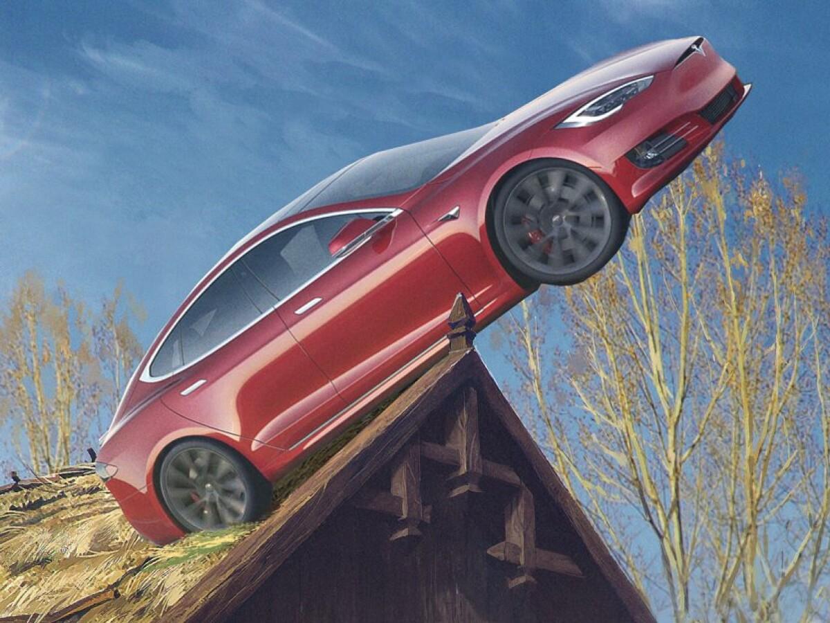 Tesla: The Witcher übers Infotainment spielen - hot or not?