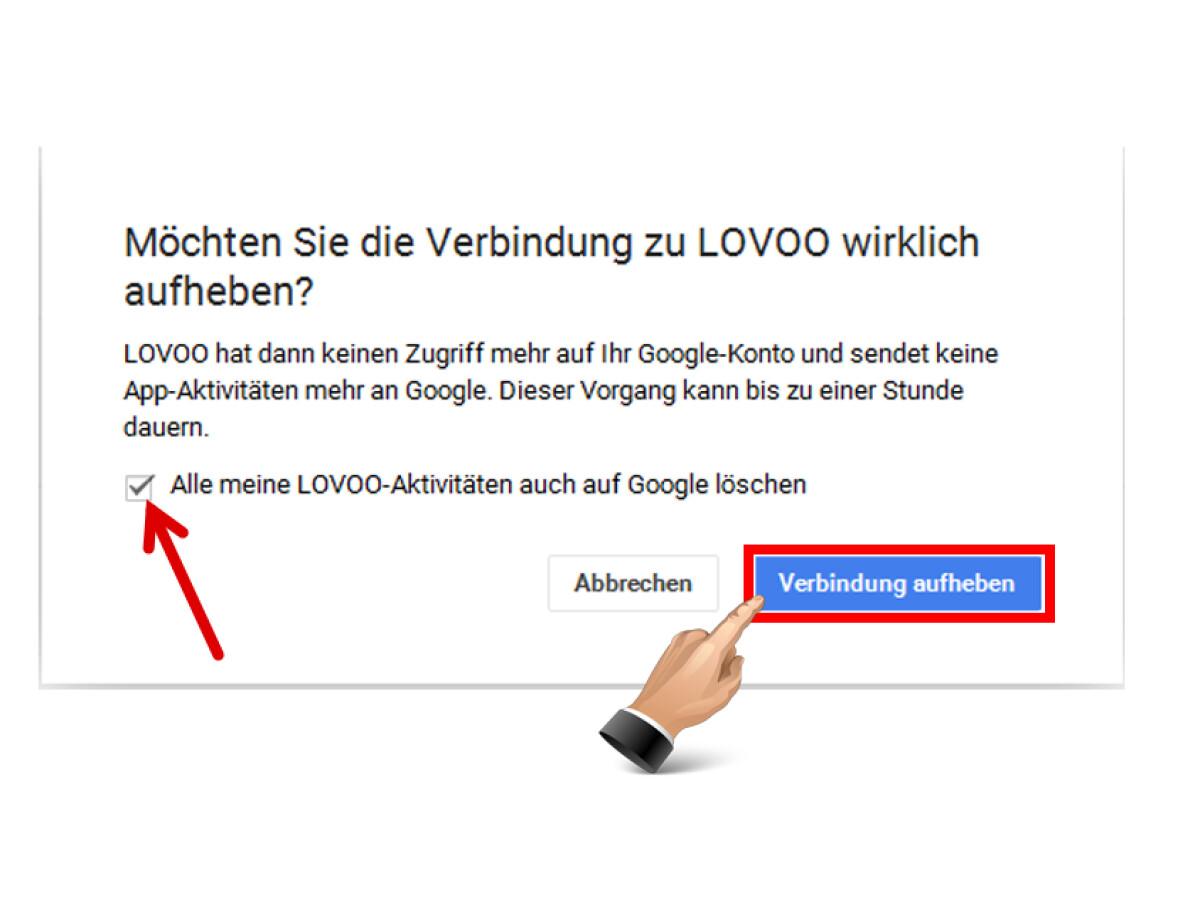 lovoo account löschen