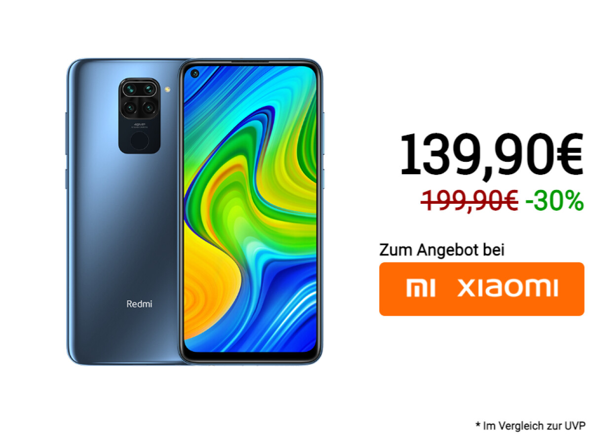 Xiaomi Redmi Note 9 has been significantly reduced by the manufacturer.
