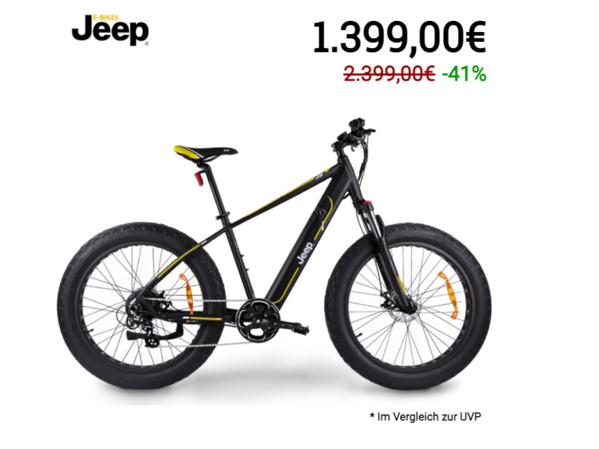 E Bike über Firma