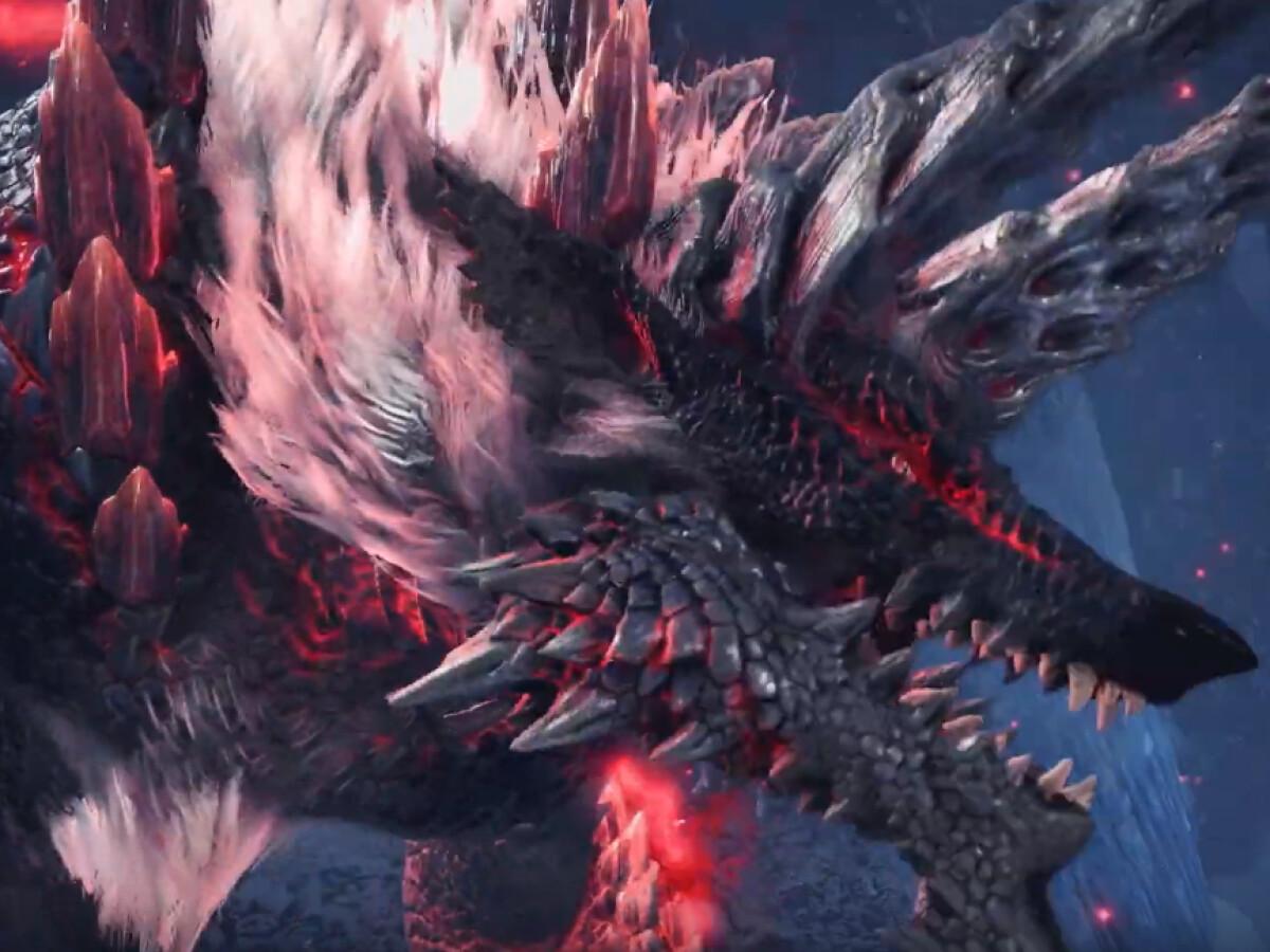 Monster Hunter World - Iceborne: Update 12.01 bringt höllische Bestie