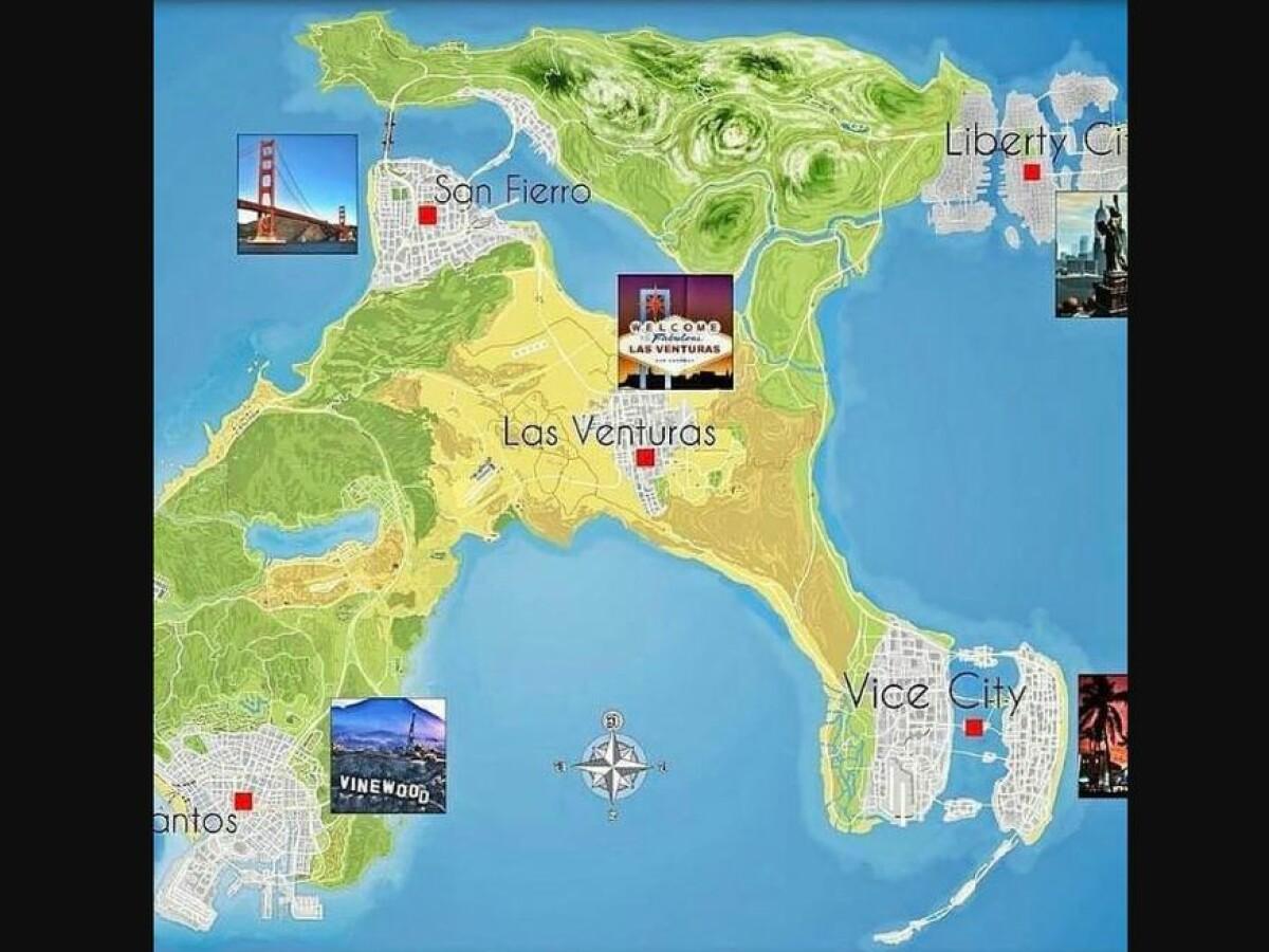 Gta 6 Release Trailer Map Alle News Und Leaks Im Uberblick