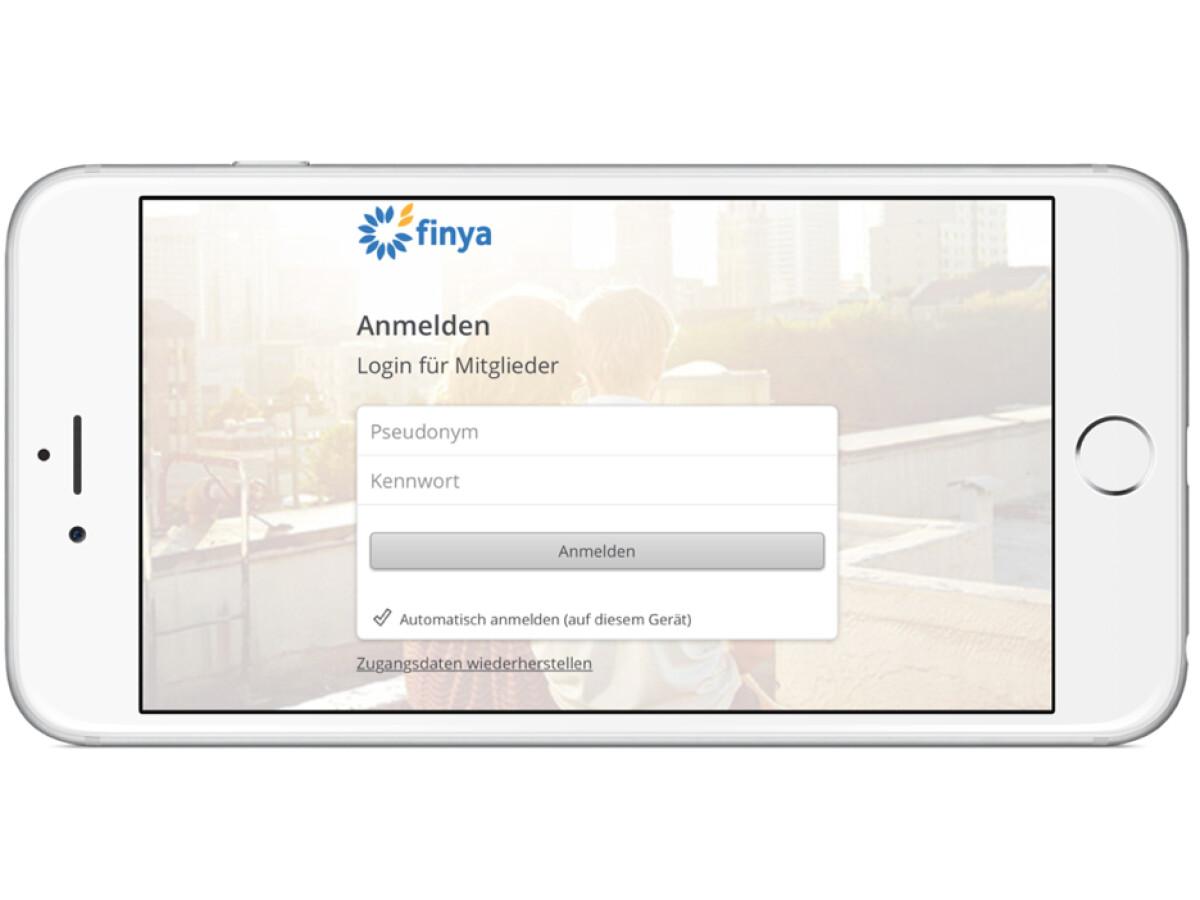 Finya login für mitglieder