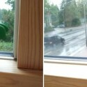 Links befindet sich das Motiv in er Mitte des Fotos, rechts ist es nach den Regeln des goldenen Schnitts aufgenommen. Trotz besser erkennbarem Hintergrund, bleibt die Palme aber das Hauptmotiv.