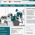 Die Öffentlich-Rechtlichen informieren auf einer Webseite über den neuen Rundfunkbeitrag.