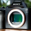 Ein CMOS-Sensor in der größe eines 35mm-Kleinbildfilms.