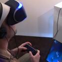Das Virtual Reality-Headset Project Morpheus ist auf der E3 2014 spielbar.