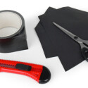 Klebeband und Papier: mehr Material benötigen Sie für diesen einfachen Effekt nicht.