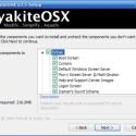 In den <i>Extras</i> stehen Bootscreen, Cursor, Logo, diverse Screensaver, Wallpaper, das an Mac OS X angelehnte Sound-Theme sowie eigene Symbole für Benutzeraccount und Hilfeseiten zur Auswahl.