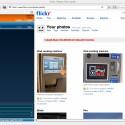 """Ein Klick auf den Upload-Button sorgt schließlich dafür, dass alle Bilder bei Flickr hochgeladen werden. Das Resultat läst sich wenig später im gleichen Browser-Fenster bewundern, wenn man auf \""""View\"""" klickt."""