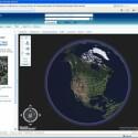 Die Erde aus dem Weltall, aufgenommen mit Live Local