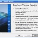 Wählen Sie den zweiten menüpunkt <i>Create a Volume within a non-system partition/device</i>, wenn Sie eine komplette Partition oder den ganzen USB-Stick verschlüsseln möchten.