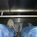 In Fahrstühlen wurde es oft sehr eng. So gerade eben schloss sich in diesem Beispiel die Tür hinter mir