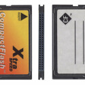 Der älteste Kartentyp: Die CompactFlash-Karte.