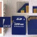 Die Secure-Digital-Card ist eine Weiterentwicklung der MMC.