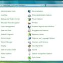 In Systemsteuerung und anderen Menüs zeigt Windows 7 eine zusätzliche Seitenleiste an, die später wohl Icons enthalten wird.