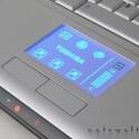 Das beleuchtbare Touchpad ist mit zusätzlichen Funktionen belegt.