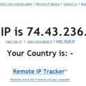 Auch normale IP-Tests im Internet liefern eine vollkommen andere IP-Adresse als Ihre - Anonymisierung geglückt.