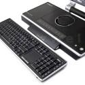 Abnehmbare Bluetooth-Tastatur mit integriertem Touchpad