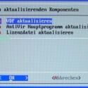 Hier haben Sie die Möglichkeit, VDF-Dateien mit neuen Virendefinitionen einzupflegen, damit das Rescue System mit möglichst frischen Informationen arbeiten kann.