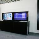 Fernseher verschwinden auf Knopfdruck in Sideboard