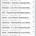 Die Suchergebnisse werden in einer Liste dargestellt. Wählt man eine Datei aus erhält man weitere Informationen.