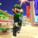 Luigi beherrscht den Blick über die Schulter.