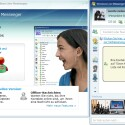 Der neue Live Messenger wurde der neuen Optik angepasst.