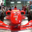 Steigerungen sind aber auch bei den ausgestellten Autos noch möglich: ein Formel1-Ferrari