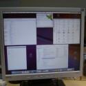 Mac OS X ist gestartet und funktioniert.