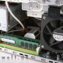 Der Intel Core 2 Quad mit 2,4 Gigahertz und eine Radeon HD 3870 machen den Shuttle zum Spieleboliden und hieven den Preis auf 1725 Euro.