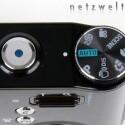 Auswahlrad und Auslöder der Samsung NV4.