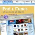 Neuerdings ist dies zum Beispiel bei iTunes möglich, wie das Logo auf der Homepage beweist.