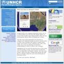 Die Homepage des UNHCR bietet Hintergründiges und den Download der KML-Datei an.