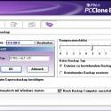 FNet PCCloneEX: Wählbare Kompressionsstufe, aber leider keine Zeitsteuerung